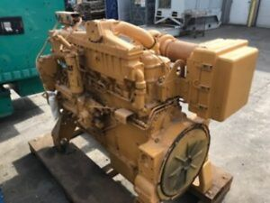 Cat 3406c Diesel Engine 360hp All Complete And Run Tested
