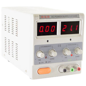 Variable Dc Power Supply With Led Display Voltage 0 30v Current 0 5 Amp