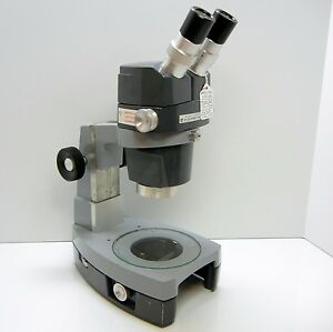 American Optical 569 Stereo Zoom Microscope Desk Stand 10xwf Eyes 30x Mag 356