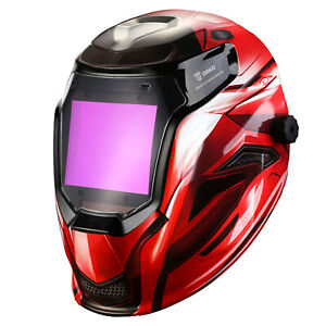 Deko Auto Darkening Solar Powered Mig Tig Arc Welding Helmet Welding Mask