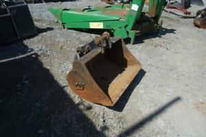 Tag 36 Hd Grading Bucket For Excavators Removed From Takeuchi Tb135fr