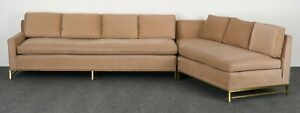 Mid Century Modern Sectional Sofa By Paul Mccobb For Directional 1950s
