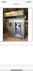 2007 Hobart Hba2g Double Rack Walk In Gas Oven Excellent Conditions