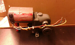 Dayton Ac dc Gearmotor With Pulley Tested Works 2z802b Runs Strong