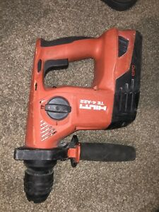 Hilti Te4 a22 Cpc 21 6 volt Cordless Rotary Drill With Battery And Charger