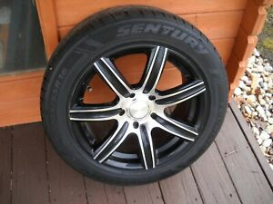 4 Like New 16inch Customs Rims W New 205 55 R16 Inch Tires