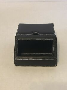 Faux Leather Buisness Card Holder