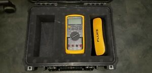 Mint Fluke 87v Industrial Rms Digital Multimeter With Lead Set And Pelican Case