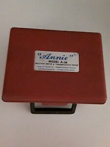 Annie Model A 16 Millivolt Meter Thermocouple Tester