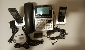 At t Cl84350 Dect 6 0 Corded cordless Telephone System