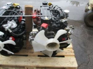 Mitsubishi S4q2 Diesel Engine 4 Cylinder All Complete And Run Tested