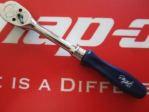 Snap on Tools Blue Hard Handle Ratchet Limited Edition Dale Earnhardt f836