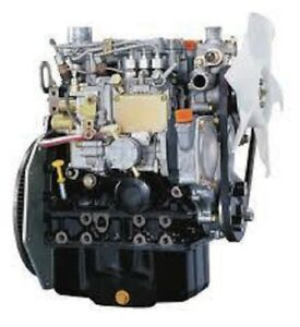Yanmar 3tnm68 asa Diesel Engine 18 9 Hp All Complete