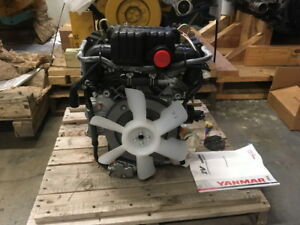 Yanmar 2v750 c Diesel Engine 0 Miles water Cooled All Complete And Run Tested
