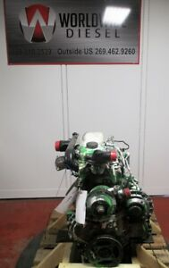 Perkins Diesel Engine Take Out Turns 360 Engine Is Good For Rebuild Only