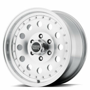 2 14x7 Ar62 Outlaw Ii 4 5 Lug New Machined Wheels Rims Free Center Caps