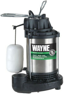 Wayne 1 Hp Sump Pump 14 In X 10 In 3960 Gph At 10 Ft Of Discharge Lift