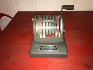 Vintage Paymaster Series 400 Check Writer Protector