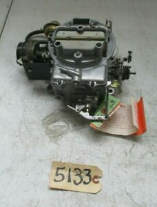 Ford Motorcraft Carburetor By Holly 0203 800960 5133 aa Free Shipping