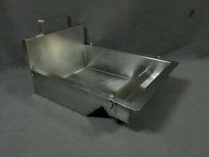 Commercial Fryer Insert Griddle Pan Stainless Steel Restaurant Kitchen Equipment