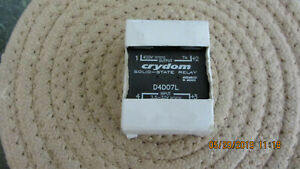 Crydom Solid State Relay D4d07l 400 Volts Dc 7 Amps