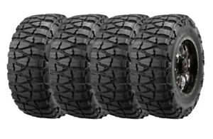 40x15 50r20lt D Set 4 Nitto Mud Grappler Mud Terrain Tires 130q 39 7 40155020