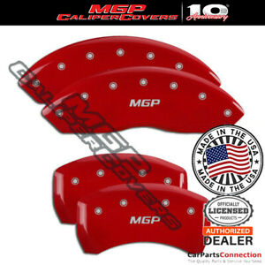 Mgp Caliper Brake Cover Red 22110smgprd Front Rear For Bmw Z4 2007 2008