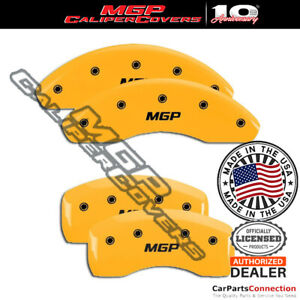 Mgp Caliper Brake Cover Yellow 28182smgpyl Front Rear For Hyundai Veloster 2016