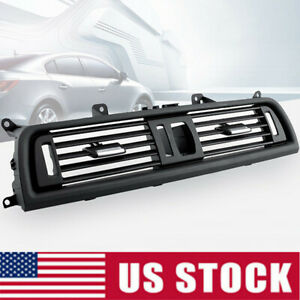 Front Dash Panel Center Fresh Air Outlet Vent Grille Cover For Bmw 5 F10 F18 Us