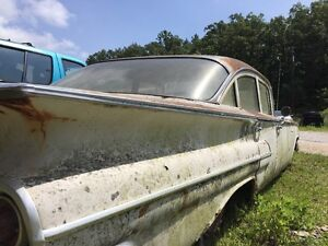1960 Chevy Bel Air 4dr Chrome Body And Door Trim 69 1 2 33 1 2 14 Inches Long