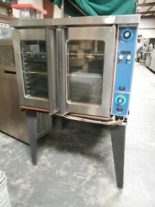 used Duke E101 g Full Size Natural Gas Convection Oven W Legs