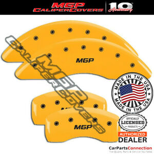 Mgp Caliper Brake Cover Yellow 22221smgpyl Front Rear For Bmw 535i Xdrive 09 16