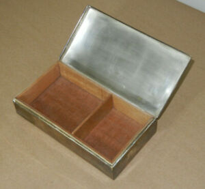 Poole Co 1899 Silverplate Box Vintage Antique