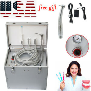 Dental Portable Delivery Unit three Way Syringe suction System Denshine gift