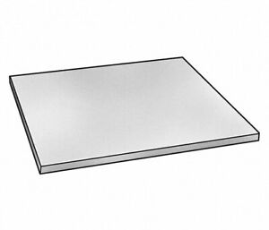 12 W X 12 L X 0 375 Thick Alloy 2024 Aluminum Precision Ground Flat Stock