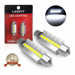 Lasfit White 578 211 2 42mm Led Trunk Cargo Light Bulbs For Ford Mustang 05 2014