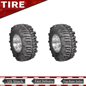 New 2x Super Swampers Lt38 50x11 15 Tsl Bogger R Tires 117q Mud Terrain R R15