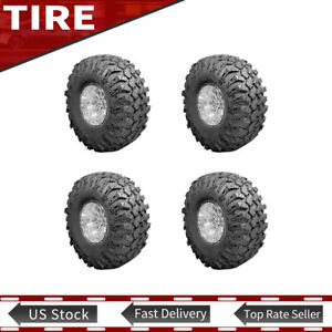 New 4x Super Swampers Lt14x42 17 Irok r Tires 118q Rock Crawling 355 90r R17