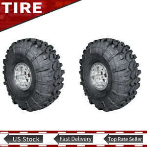2x New Lt32x11 50 15 110q Mud Terrain Tyre Super Swamper 4 Ply Tires 290 70 15
