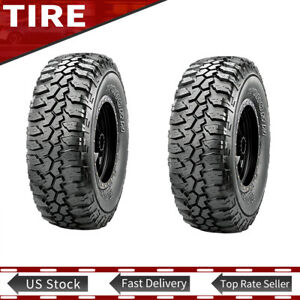 Maxxis Bighorn Mt 762 Lt265 75r16 Tire 112 109q Mud Terrain 265 75r R16 Set Of 2
