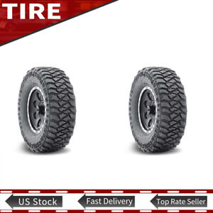 2x New Lt305 65r17 121 118q Tyre Mickey Thompson 3 Ply Tires 305 65 17