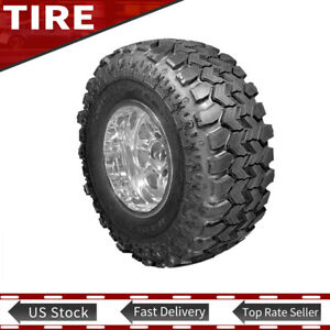 1x New Lt37x12 50r16 5 124q Mud Terrain Tyre Super Swamper Ply Tires 320 80 16 5
