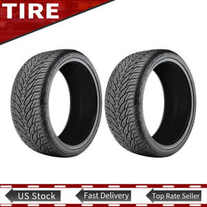 Tire Only 2pcs Az800 Lt305 X 45r22 Fits 9 5 Thru 10 5 Wide Wheels
