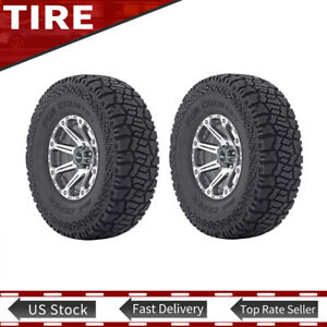 Tire Only 2pcs Fun Country Lt32 X 11 50r15 Fits 8 00 Thru 10 00 Wide Wheels