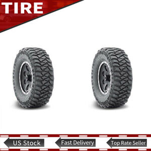 New Lt285 75r16 126 123q Mud Terrain Tyre Mickey Thompson 3 Ply Tires Set Of 2