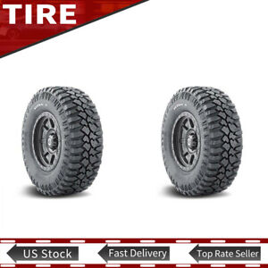 New Lt265 75r16 123 120q Mud Terrain Tyre Mickey Thompson 2 Ply Tires Set Of 2