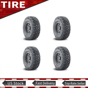 New Lt265 75r16 123 120q Mud Terrain Tyre Mickey Thompson 2 Ply Tires Set Of 4