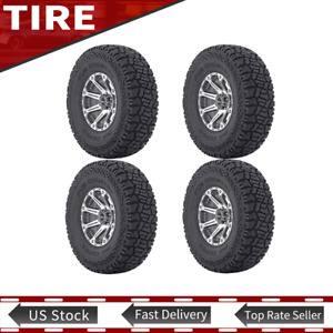 Tire Only 4pcs Fun Country tm Lt35 X 12 50r20 Fits 8 1 2 Thru 11 00 wide Wheel