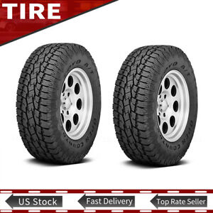 New 2x Toyo Lt325 60r18 Tire 124 121s Open Country A t Ii Tires 325 60 18