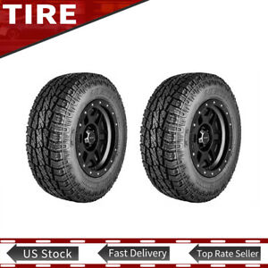 Brand New Lt265 75r16 123 120q All Terrain Tyre Pro Comp 3 Ply Tires Set Of 2